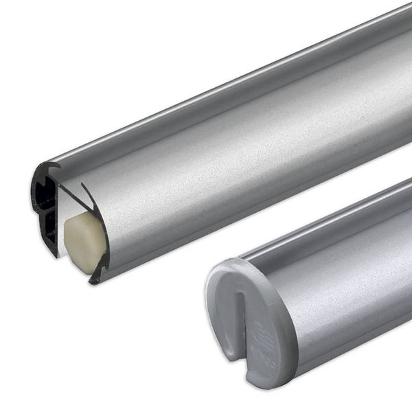 Picture of FAST CLIP RAIL (WITH END CAPS AND STANDARD CYLINDERS)